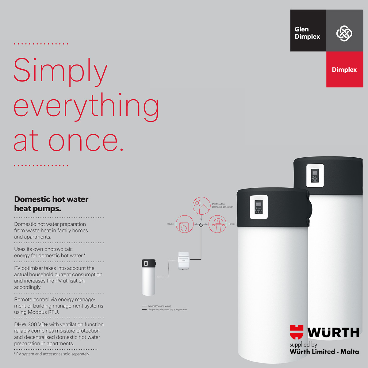 Heat Pumpx from Wurth