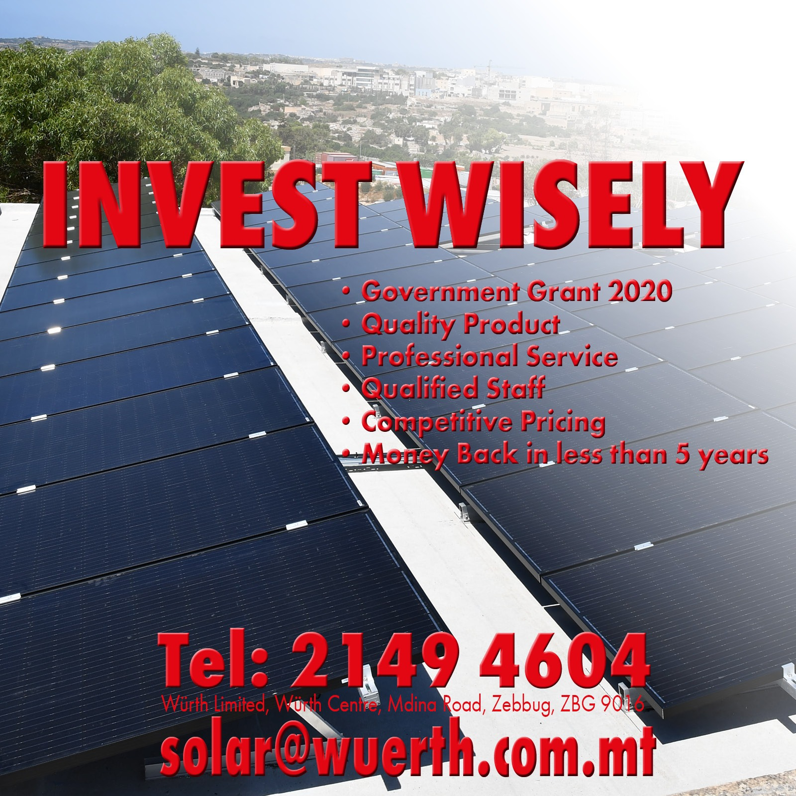 Würth Solar Projects